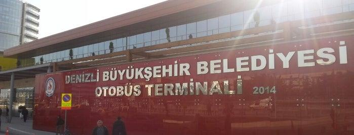 Denizli Şehirler Arası Otobüs Terminali is one of En çok check-inli mekanlar.