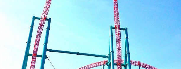 Xcelerator is one of Stevenson's Favorite Roller Coasters.