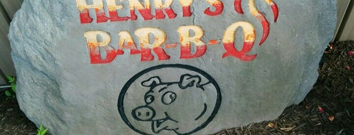 Henry's Bar BQ is one of PA - Montoursville.