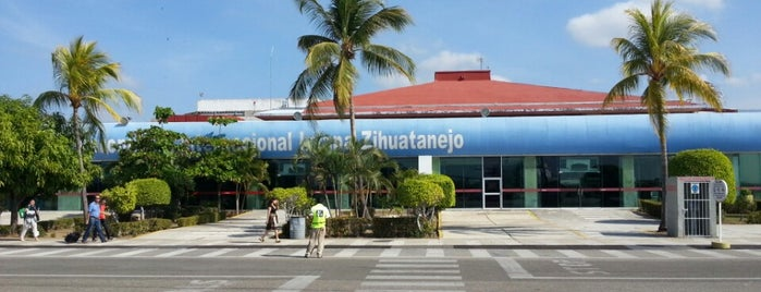 Aeropuerto Internacional Ixtapa-Zihuatanejo (ZIH) is one of Lugares favoritos de Fernando.