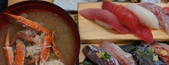 沼津 魚がし鮨 沼津港店 is one of Lugares favoritos de Hayate.