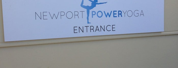 Newport Power Yoga is one of Locais curtidos por Allie.
