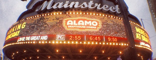 Alamo Drafthouse Cinema is one of Chadさんのお気に入りスポット.