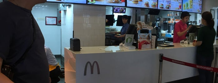 McDonald's is one of Seoul.