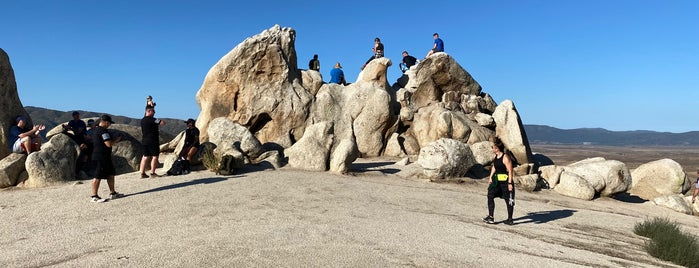 Eagle Rock is one of south cali hikes.