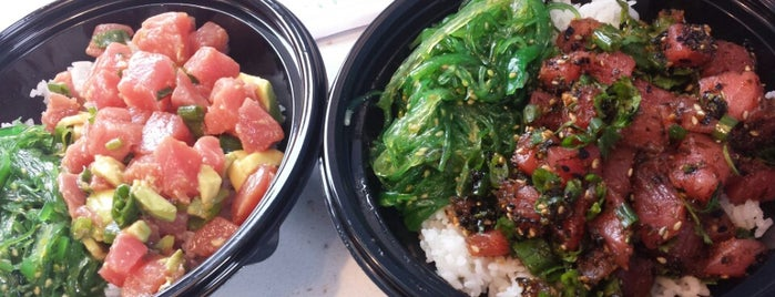 Spinfish Poke House is one of LA.
