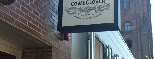Cow & Clover is one of New York to-do list.