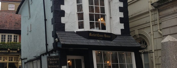 The Crooked House of Windsor is one of if you're ever in ____.