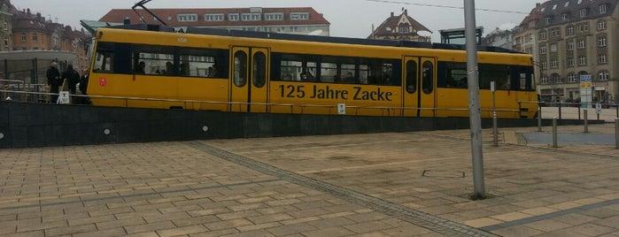 Zahnradbahn Stuttgart is one of สถานที่ที่ Çağlar ถูกใจ.