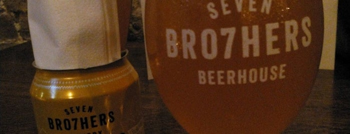 Seven Bro7hers Beerhouse is one of Ninaさんのお気に入りスポット.