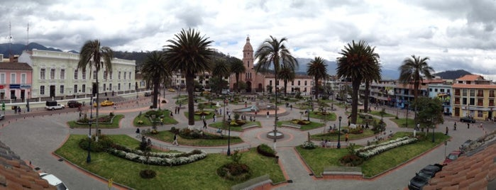 Parque Central Otavalo is one of Ecuador.