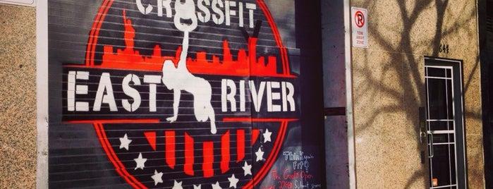 CrossFit East River is one of Tempat yang Disukai Pat.