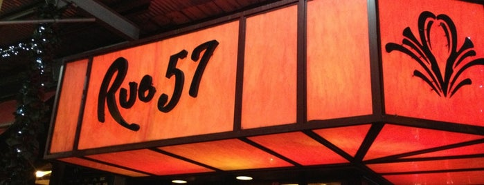 Rue 57 is one of NYC.