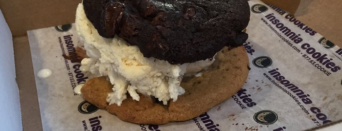 Insomnia Cookies is one of Latonia's Liked Places.