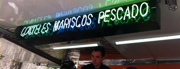 Barra Vieja tostaderia is one of FoodTrucks Mexico!.