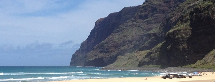 Polihale Beach is one of Kauai.