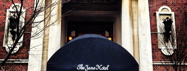 The Jane Hotel is one of Fashion Week 2013.