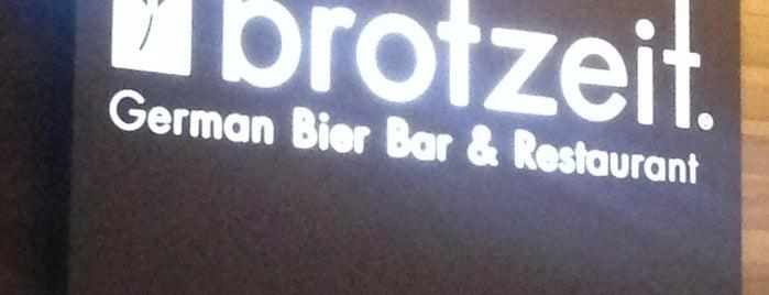 Brotzeit German Bier Bar & Restaurant is one of Lieux qui ont plu à THE Z WORLD.