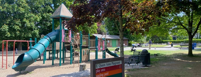 East Queen Anne Playground is one of Seattle's 400+ Parks [Part 2].