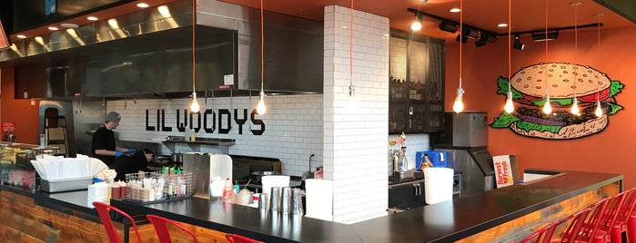 Li'l Woody's is one of Amazon Campus (SLU) Lunch Spots.