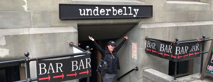Underbelly is one of Lieux qui ont plu à Cusp25.
