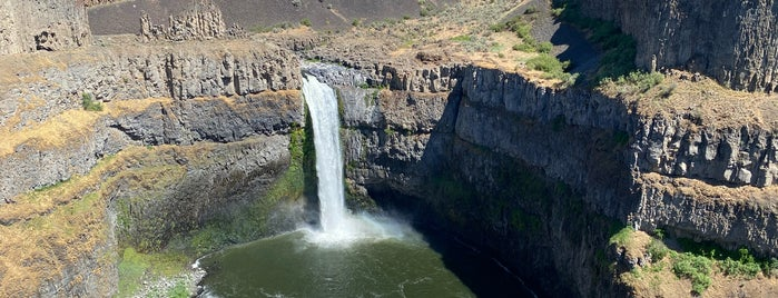 Palouse Falls State Park is one of Parks, Hikes, and Scenic Views.