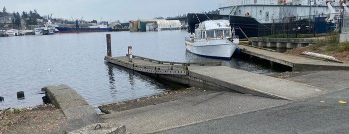 Ballard Boat Launch is one of Seattle's 400+ Parks [Part 1].