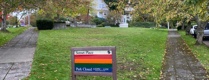Sunset Place Park is one of Seattle's 400+ Parks [Part 2].