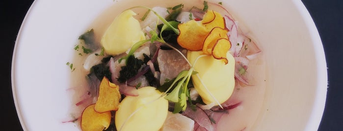 A Cevicheria is one of visit.lisbon.