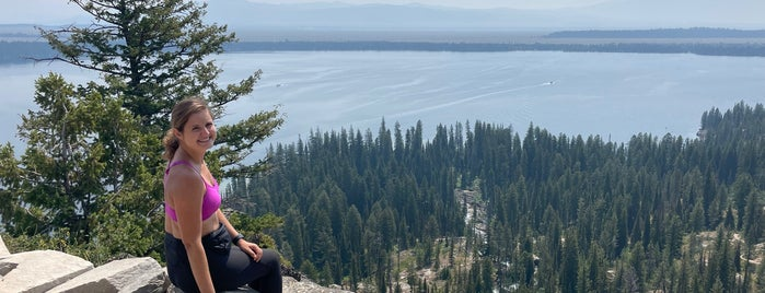 Inspiration Point is one of Jackson Hole.