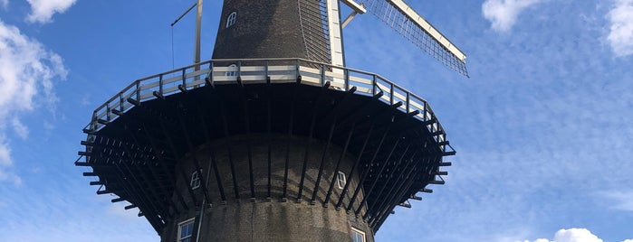 Museummolen de Valk is one of Holanda.