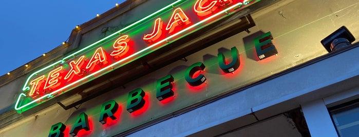 Texas Jack's Barbecue is one of Gespeicherte Orte von John.