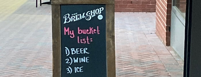 The Brew Shop is one of Reason Rally Trip DC.
