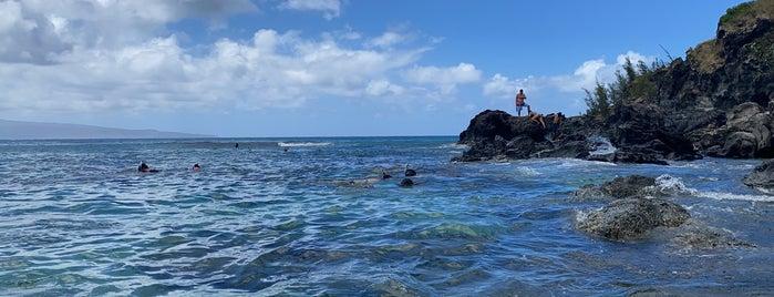 Slaughterhouse Beach is one of Maui.