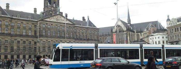 암스테르담 왕궁 is one of The Nederlands.