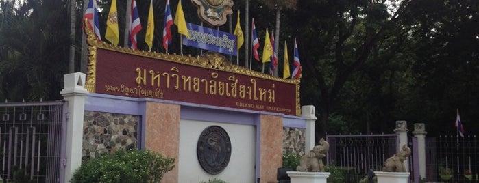 Chiang Mai University is one of Chiang Mai.
