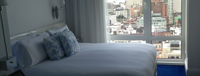 Mondrian SoHo is one of The Hippest Hotels in New York.