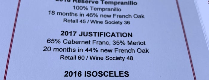 Justin Vineyards & Winery is one of Paso.