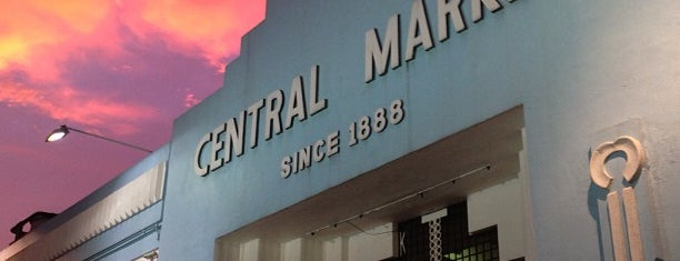 Central Market (Pasar Seni) is one of K.