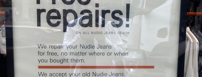 Nudie Jeans Skånegatan is one of Стокгольм.