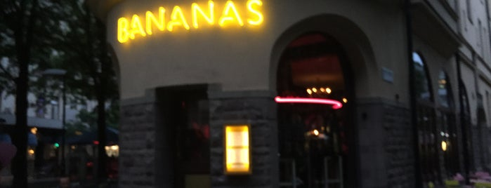 Bistro Bananas is one of Stockholm/Södermalm.