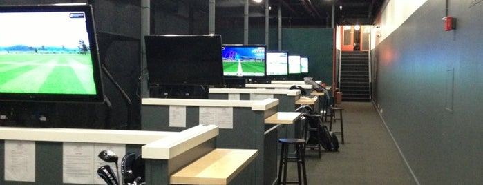 Eagle Club Indoor Golf is one of SF Date Ideas.