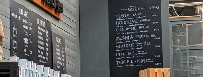 Café Knopes is one of Europe specialty coffee shops & roasteries.
