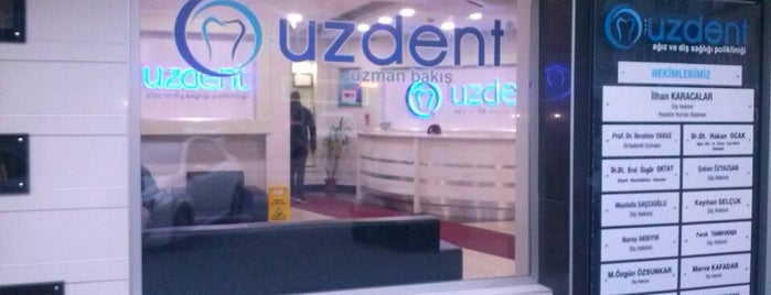 UZDENT Ağız ve Diş Sağlığı Merkezi is one of UZDENT 님이 저장한 장소.
