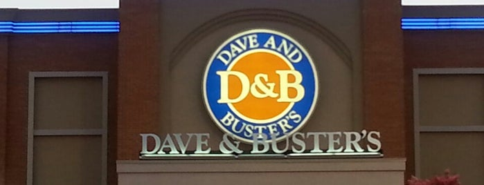 Dave & Buster's is one of Dallas FW Metroplex.