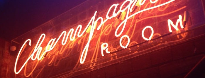 Champagne Room is one of Bars & Pubs.