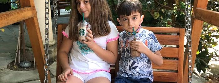 Starbucks is one of Ali : понравившиеся места.