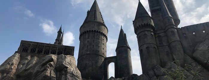 Harry Potter and the Forbidden Journey is one of Cristina : понравившиеся места.
