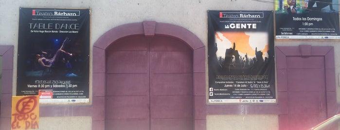 Teatro Bárbaro Foro Cultural Independiente is one of Tempat yang Disukai Enrique.