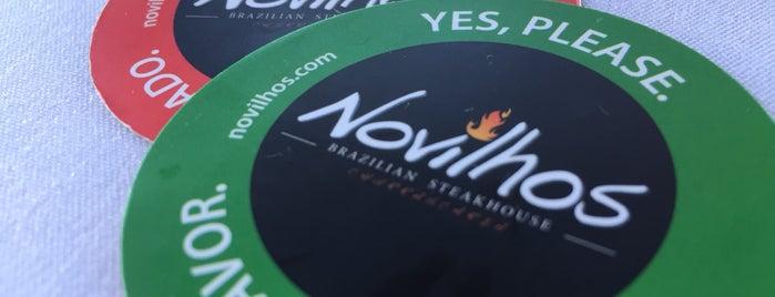 Novilhos Brazillian Steakhouse is one of My Best Eats.